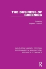 The Business of Greening - Book