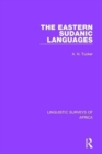 The Eastern Sudanic Languages - Book