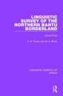 Linguistic Survey of the Northern Bantu Borderland : Volume Four - Book