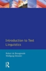 Introduction to Text Linguistics - Book