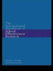 The International Handbook of School Effectiveness Research - Book