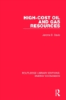 High-cost Oil and Gas Resources - Book