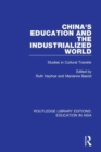 Routledge Library Editions: Education in Asia - Book