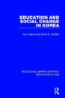 Education and Social Change in Korea - Book
