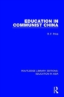 Education in Communist China - Book