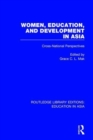 Women, Education and Development in Asia : Cross-National Perspectives - Book