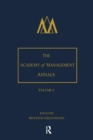 The Academy of Management Annals, Volume 6 - Book