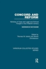 Concord and Reform : Nicholas of Cusa and Legal and Political Thought in the Fifteenth Century - Book