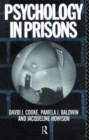 Psychology in Prisons - Book