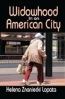 Widowhood in an American City - Book
