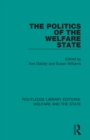 The Politics of the Welfare State - Book