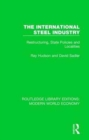 The International Steel Industry : Restructuring, State Policies and Localities - Book