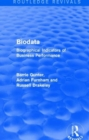 Biodata : Biographical Indicators of Business Performance - Book