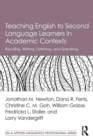 Teaching English to Second Language Learners in Academic Contexts : Reading, Writing, Listening, and Speaking - Book