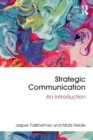 Strategic Communication : An Introduction - Book