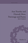 Ann Yearsley and Hannah More, Patronage and Poetry : The Story of a Literary Relationship - Book
