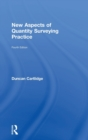 New Aspects of Quantity Surveying Practice - Book