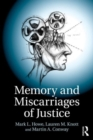 Memory and Miscarriages of Justice - Book