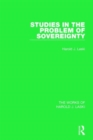 Studies in the Problem of Sovereignty (Works of Harold J. Laski) - Book