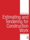 Estimating and Tendering for Construction Work - Book