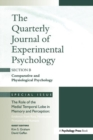 The Role of Medial Temporal Lobe in Memory and Perception: Evidence from Rats, Nonhuman Primates and Humans : A Special Issue of the Quarterly Journal of Experimental Psychology, Section B - Book