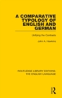 A Comparative Typology of English and German : Unifying the Contrasts - Book