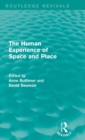 The Human Experience of Space and Place - Book