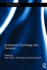 Evolutionary Psychology and Terrorism - Book
