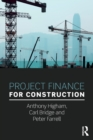 Project Finance for Construction - Book