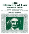 Elements of Law, Natural and Political - Book