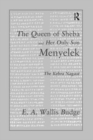 Queen Of Sheba - Book