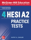 McGraw-Hill Education 4 HESI A2 Practice Tests, Third Edition - eBook