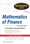Schaum's Outline of  Mathematics of Finance, Second Edition - eBook