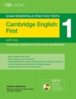 Exam Essentials: Cambridge First Practice Tests 1 w/o key + DVD-ROM - Book