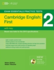 Exam Essentials: Cambridge First Practice Tests 2 w/o key + DVD-ROM - Book