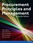 Procurement, Principles & Management - eBook