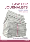 Law for Journalists - Book