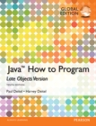 Java: How to Program (Late Objects), Global Edition - Book