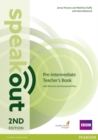 Speakout Pre-Intermediate 2nd Edition Teacher's Guide with Resource & Assessment Disc Pack - Book