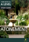 Atonement: York Notes for A-level - Book