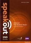 Speakout Advanced 2nd Edition Flexi Students' Book 2 with MyEnglishLab Pack - Book