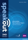 Speakout Intermediate 2nd Edition Flexi Students' Book 1 with MyEnglishLab Pack - Book
