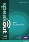 Speakout Starter 2nd Edition Flexi Students' Book 1 with MyEnglishLab Pack - Book