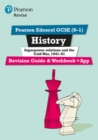 Pearson Edexcel GCSE (9-1) History Superpower relations and the Cold War, 1941-91 Revision Guide and Workbook + App : Catch-up and revise - Book