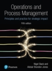 Operations and Process Management : Principles and Practice for Strategic Impact - Book