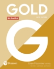 Gold B1+ Pre-First New Edition Exam Maximiser with Key - Book