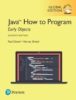 Java How to Program, Early Objects plus Pearson MyLab Programming with Pearson eText, Global Edition - Book