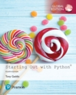 Starting Out with Python, Global Edition - Book