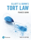 Elliott & Quinn's Tort Law - Book