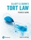 Elliott & Quinn's Tort Law PDF eBook - eBook